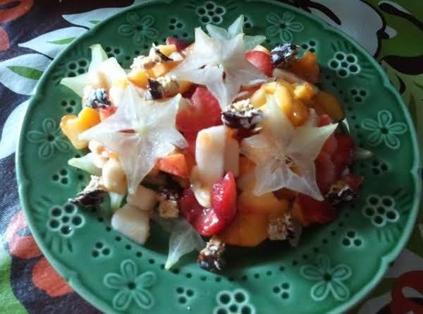 Starfruit (carambola) Fruit Salad