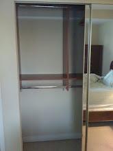 Photo: Built in closet in master bedroom