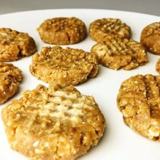 No Bake Peanut Butter Cookies.