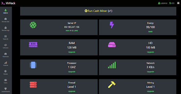 VirHack – Idle Hacking Simulator Apk  Download For Android 4