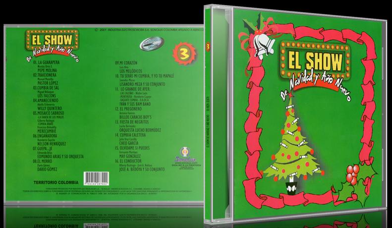 Varios Artistas - El Show De Navidad Y Año Nuevo 3 (2001) [MP3 @320 Kbps]