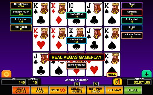 Video Poker Multi Hand Casino 1.2 screenshots 12