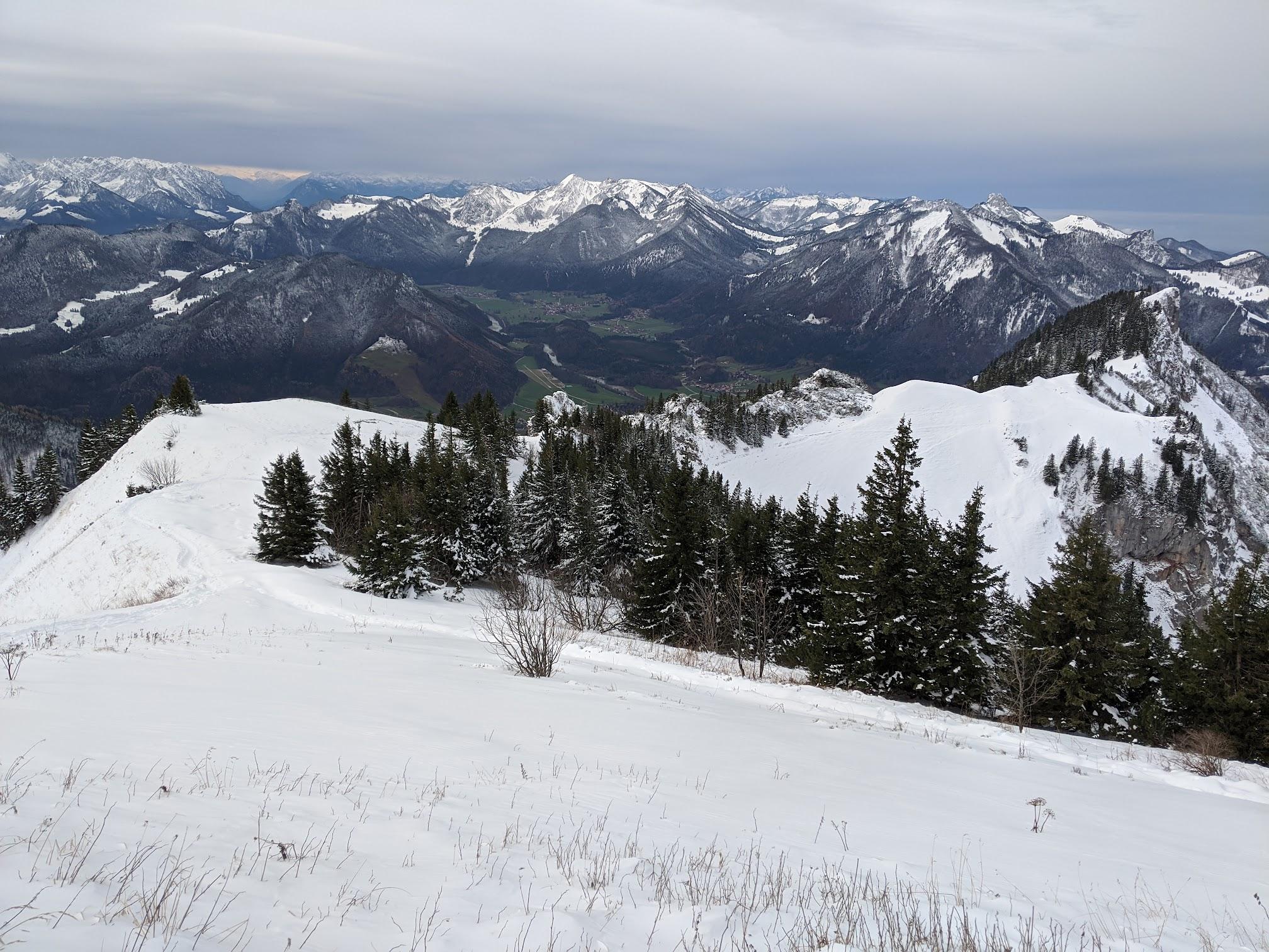 Chiemgau Alps: Hochgern hike - Dec 19