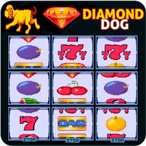 Diamond Dog Slot Machine