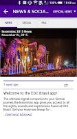 Screenshot of Insomniac: EDC Brasil 2015