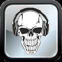 MP3 Music Download-Skull icon