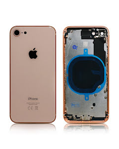 iPhone 8G Housing without small parts HQ Gold