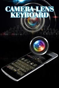 Keyboard Theme Camera Lens - náhled