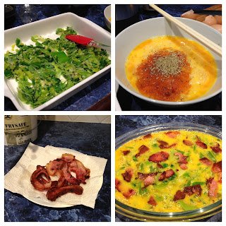 Bacon and Leek Frittata Using Thermomix Recipe
