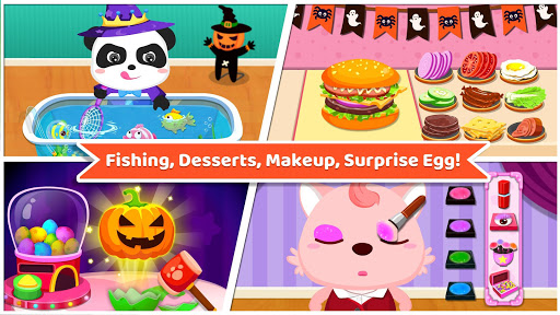 Baby Panda's Supermarket-Halloween Party Shopping  7