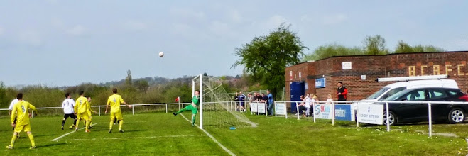 Photo: 21/04/14 v Hurst Green (West Lancashire Football League Division One) 0-3 - contributed by Mike Latham