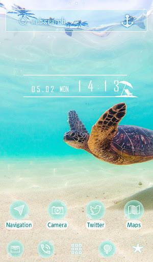 Sea Turtle's Swim +HOME Theme 1.0.0 Windows u7528 5