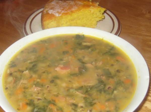 Blackeye Pea And Ham Soup Recipe