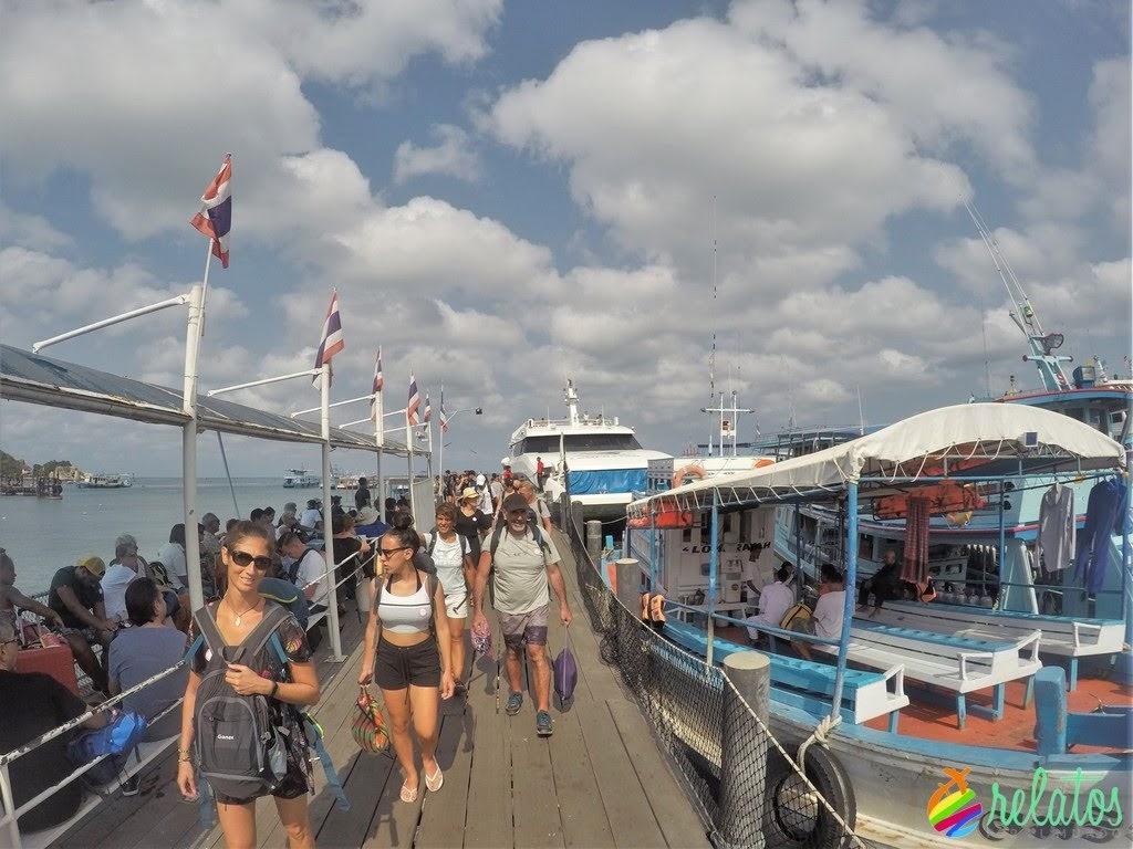 ferry Koh Phangan - Koh Tao