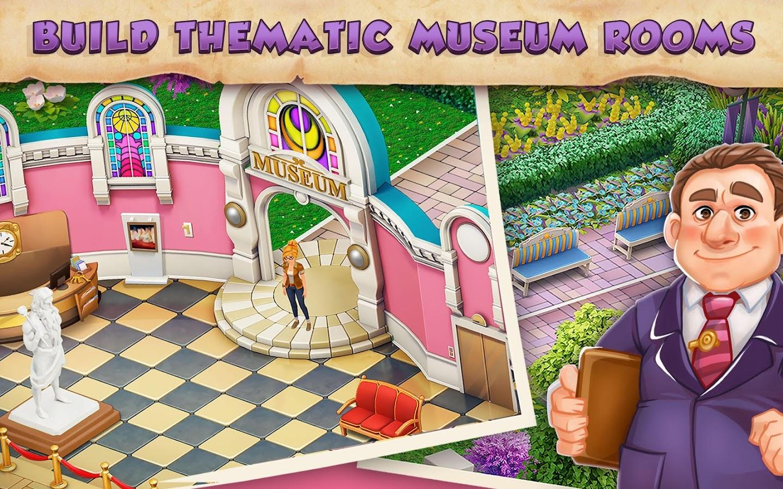 MOD My Museum Story: Mystery Match Unlimited Money - VER. 1.35.0