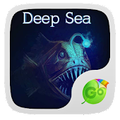 Deep Sea Emoji Keyboard Theme