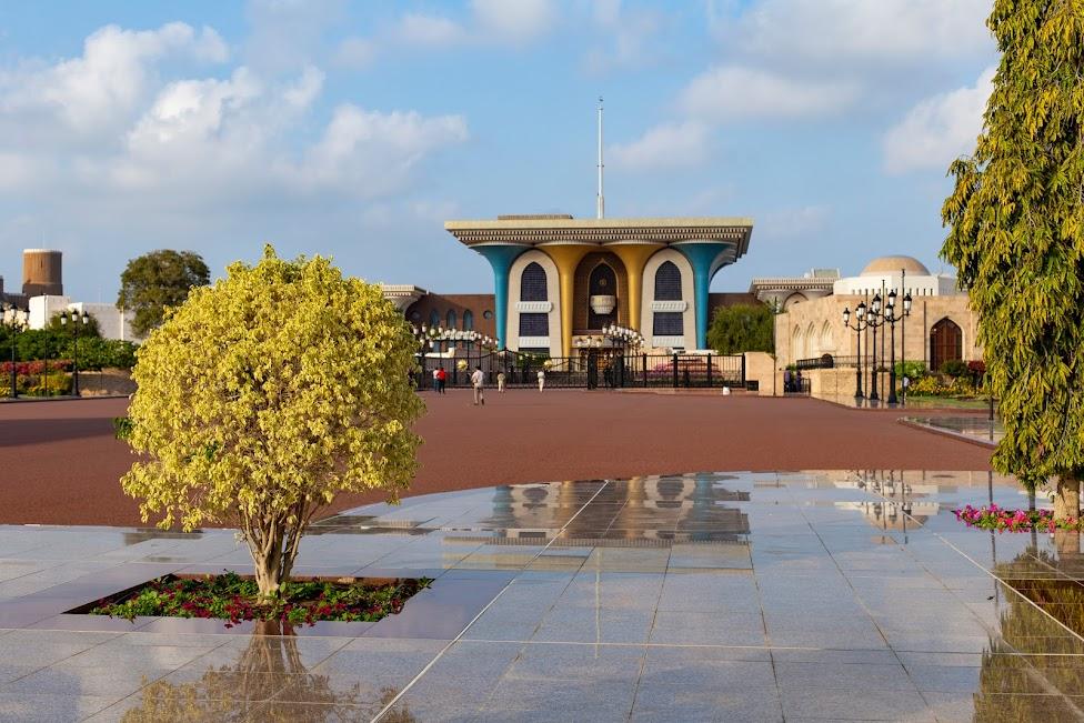 Maskat, Pałac Al-Alam
