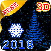 💥🎄❄️3D New Year 2018 LWP free