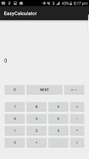 Easy Calculator screenshot