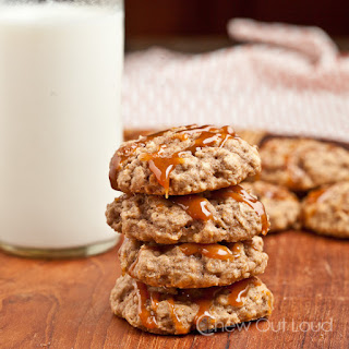 Soft Apple Oatmeal Cookies.