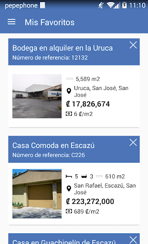 android iCasas Costa Rica Real Estate Screenshot 6