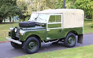 Land Rover Series 1 Rent East Midlands