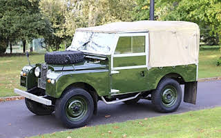 Land Rover Series 1 Rent East Midlands