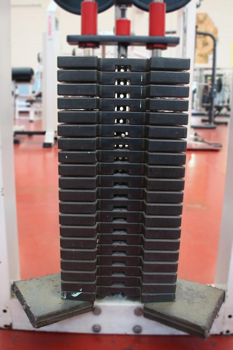 I pesi della palestra di c