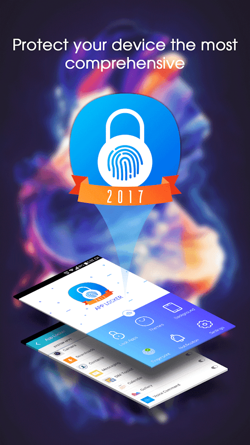 App Locker 2017 - Fingerprint  Unlock, Video Lock- screenshot