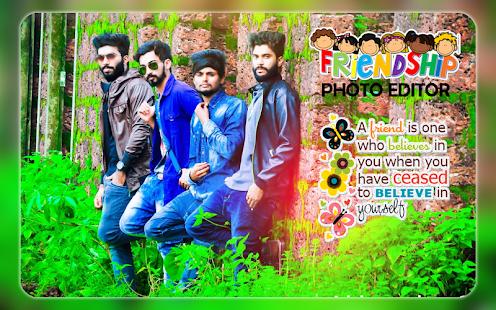 Friendship Photo Editor   Friendship Photo Frames - náhled