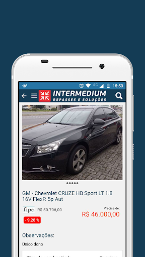 Intermedium Repasses Lojista 0.9.4 screenshots 2