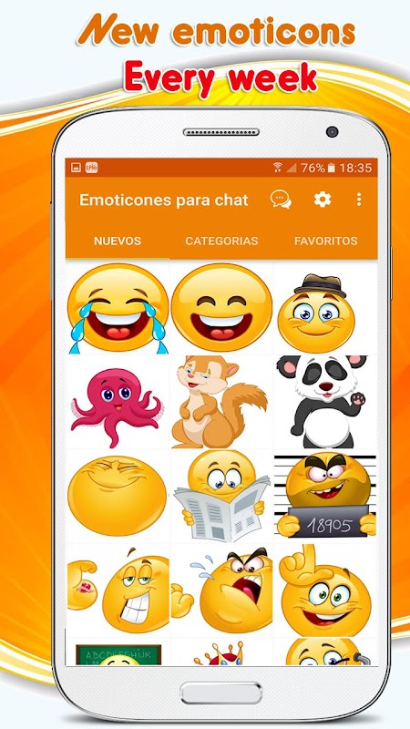 Emoticons, emoji stickers for whatsapp APK 7 8 8 Download - Free