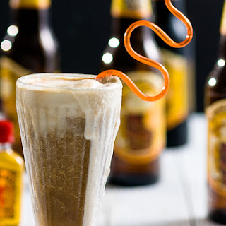 Hard Root Beer Fireball Float