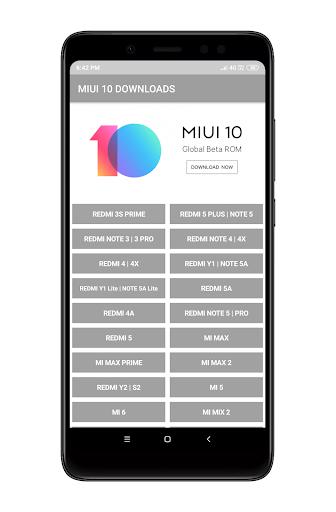 MIUI 10 DOWNLOADS 2.1.2 screenshots 2