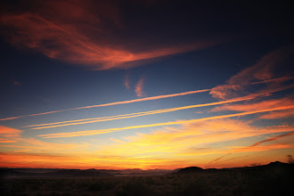 Photo: Fort Irwin Sunrise | Good times in Barstow. That's all I'll say. : )  © 2010 Ryan Lynham