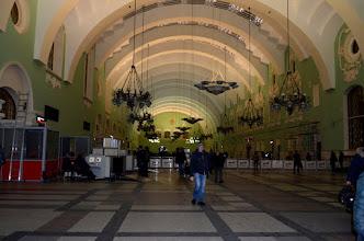 Photo: (Kazan train station), MOSCA  STAZIONE FERROVIARIA  PARTENZA SULLA LEGGENDARIA TRANSIBERIANA