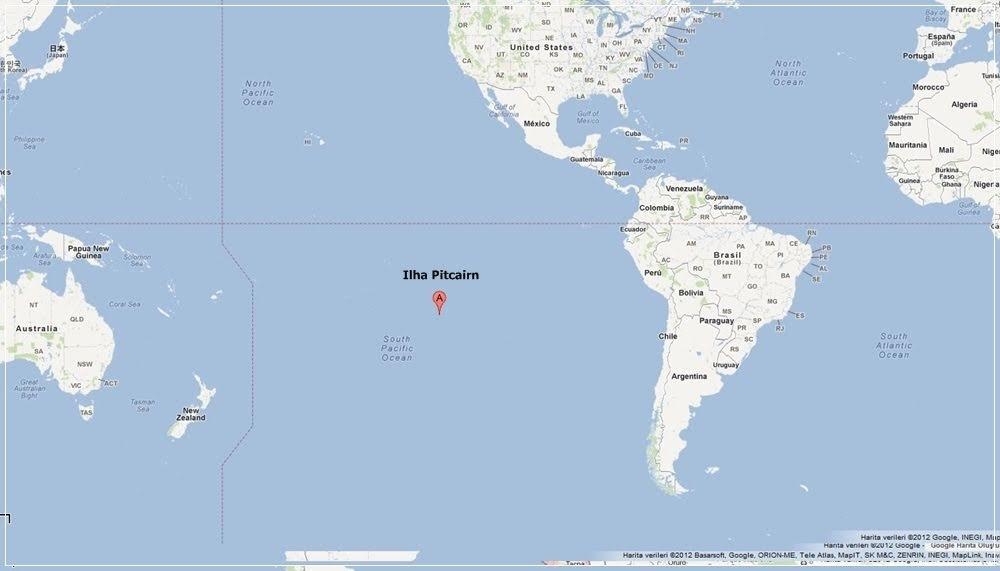 Pitcairn, a ilha perdida dos amotinados