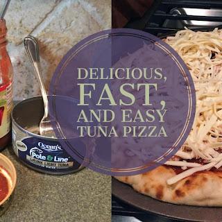 Fast, Delicious, and Easy Tuna Pizza.