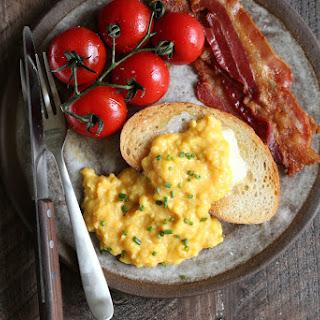 Soft Scrambled Eggs.