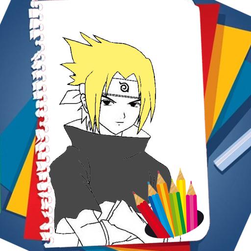 Coloring Book for Naruto