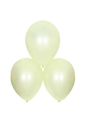 Satinballonger, champagne 6 st