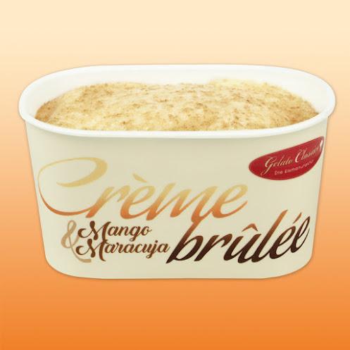 Abbildung Crème brûlée Mango-Maracuja