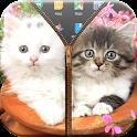 Kitty Zipper Lock Screen icon