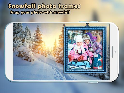 Snowfall Photo Frames New