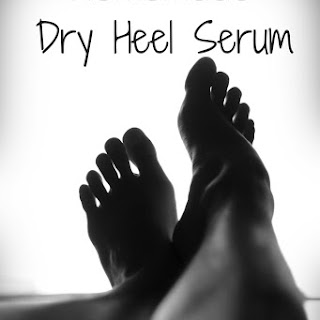 Moisturizing Serum for Feet and Dry Heels.