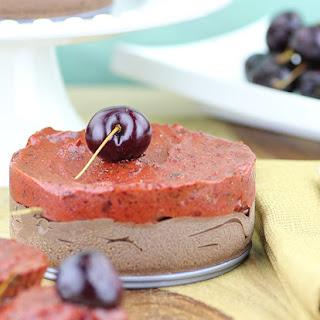 Raw Chocolate Cherry Cheesecake