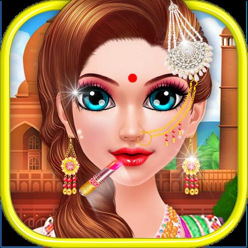 Indian Makeup and Dressup (game)