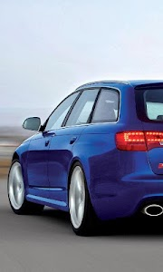Themes Audi RS6 screenshot 1
