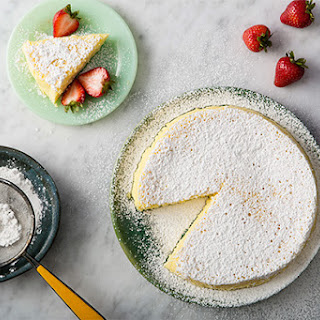 Three-Ingredient Japanese Cheesecake