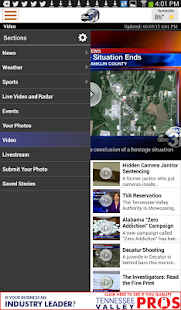 WAAY TV App for Android- screenshot thumbnail